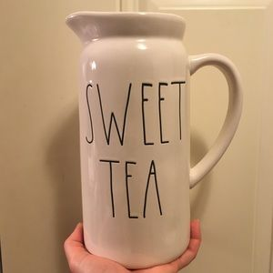 ⭐️ NEW Rae Dunn Sweet Tea Ceramic Pitcher